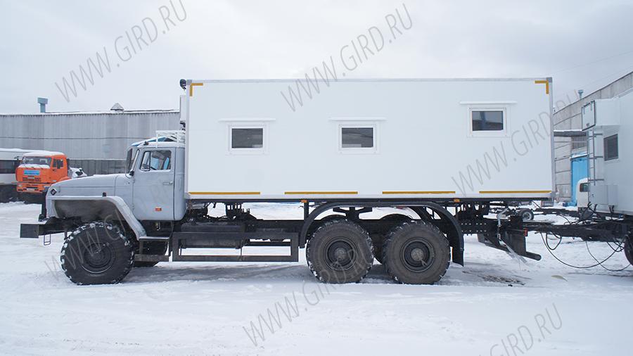 Дом на колесах Урал